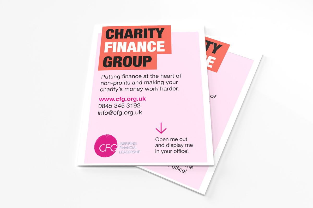 Charity Direct Mail Front View