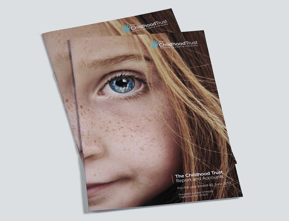 Charity Annual Report Design Cover