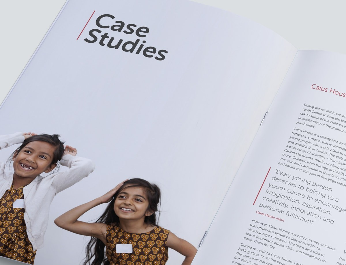 Charity-Brochure-Design-Poverty Report Case Study Spread