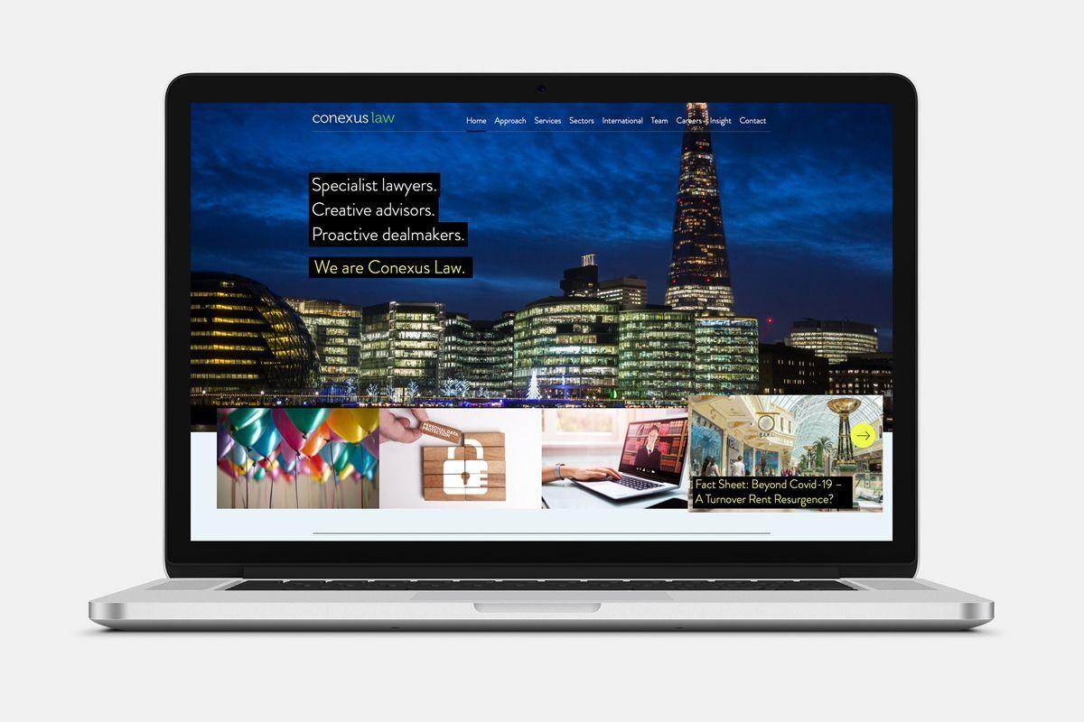 Conexus Law Website Home